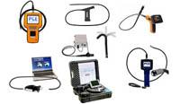 Endoskope zur visuellen Begutachtung von Maschinenteilen (auch mit Kamera zur Dokumentation)