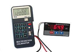 Kalibriergerät PCE-123 im Einsatz mit Digitalanzeiger SLT