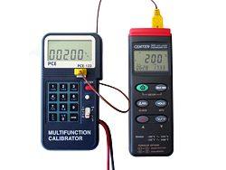 Kalibriergerät PCE-123 keim kalibrieren eines   Temperaturmessgerätes T395