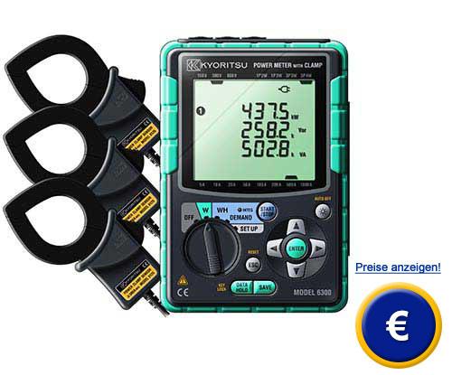 Energie - Logger Kyoritsu 6305   PCE Instruments