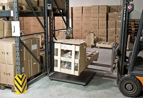 geeichte / eichfähige Bodenwaage bis 6.000 kg der PCE-SD E Serie