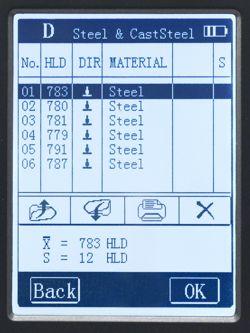 Interface hardness tester/Härtprüfgerät/PCE 2900 hardness