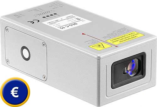 Laser distanz messgerät zur sps anbindung pce instruments