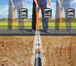 Leitungssuche mit dem Kabelortungsortungsgerät Easyloc