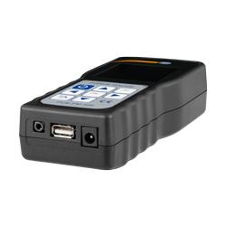 Conexión USB y cargador del dinamómetro PCE-FM 200