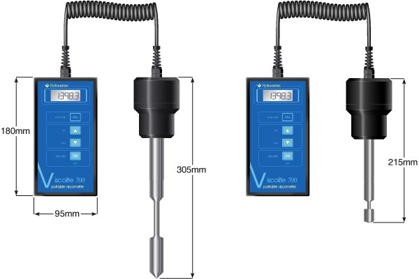 Messgerät für Viskosität Viscolite