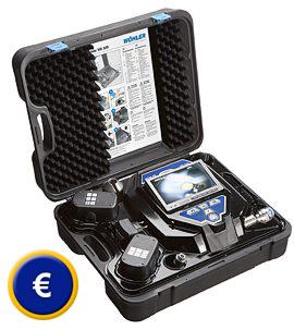 Videoskop / Endoskop mit 7 Zoll TFT-Display