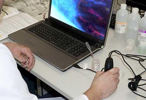 Uv usb mikroskop pce mm 200uv pce instruments